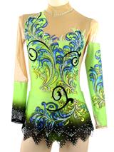 ... Neon green rhythmic gymnastics leotard for sale ...  sc 1 st  Leotard-Made to Measure Rhythimic Gymnastics Costume Shop RG ... & Leotard-Made to Measure Rhythimic Gymnastics Costume Shop RG ...
